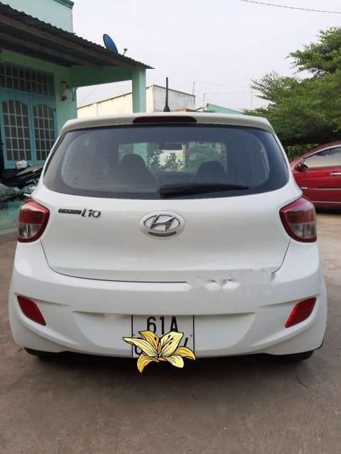 Bán Hyundai Grand i10 năm sản xuất 2014, màu trắng, nhập khẩu-2