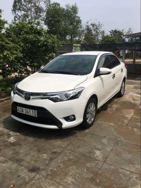 Cần bán lại xe Toyota Vios 1.5G AT năm 2018, màu trắng, xe gia đình-1