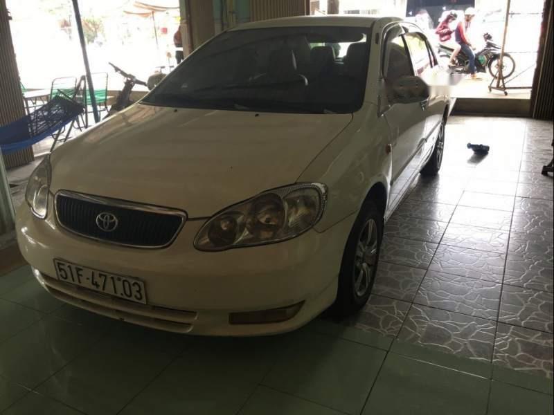 Bán xe Toyota Corolla altis đời 2003, màu trắng, xe nhập số sàn-4