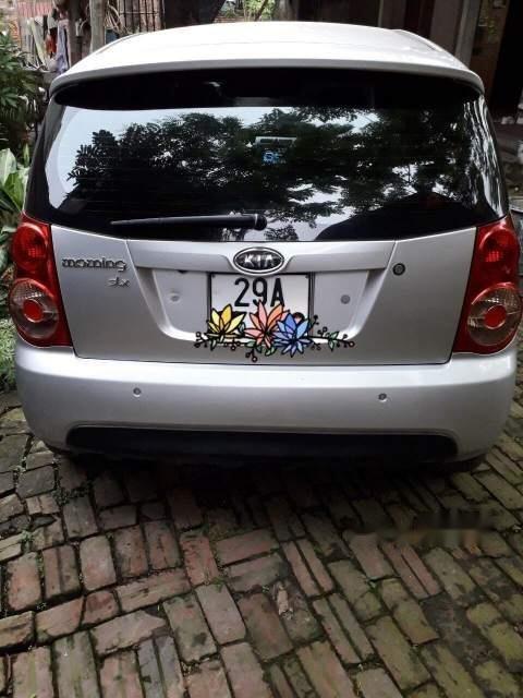 Cần bán xe Kia Morning đời 2008, màu bạc, xe nhập-4
