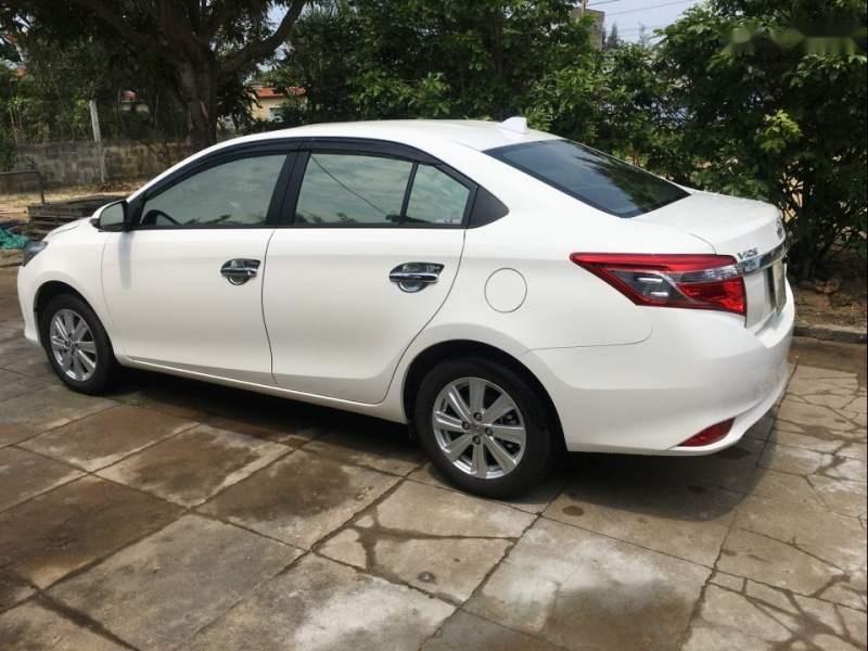 Cần bán lại xe Toyota Vios 1.5G AT năm 2018, màu trắng, xe gia đình-0