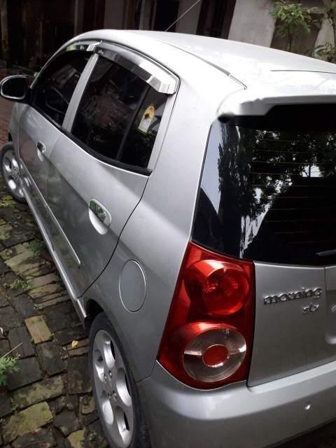 Cần bán xe Kia Morning đời 2008, màu bạc, xe nhập-0