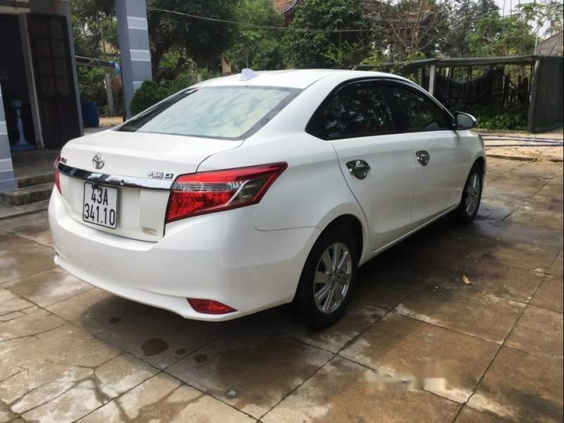 Cần bán lại xe Toyota Vios 1.5G AT năm 2018, màu trắng, xe gia đình-2