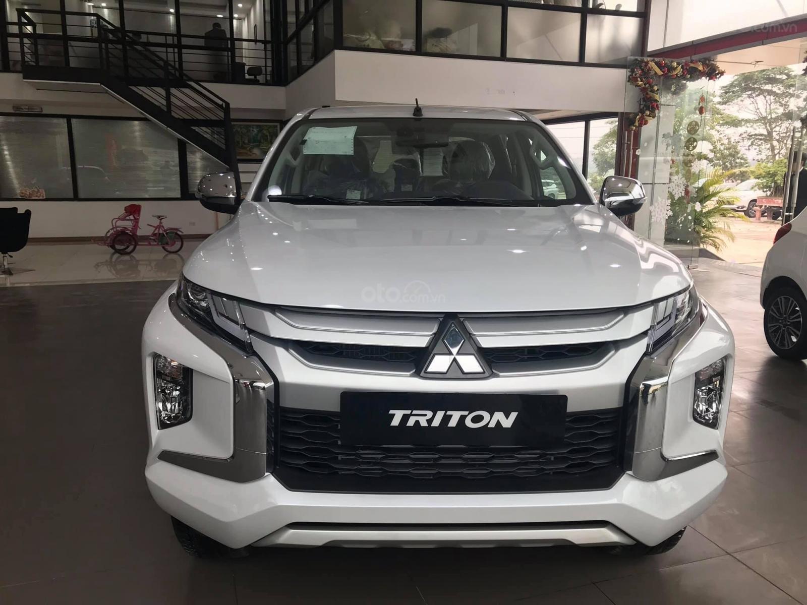 Bán ô tô Mitsubishi Triton sản xuất 2019, màu xám (ghi), xe nhập-1