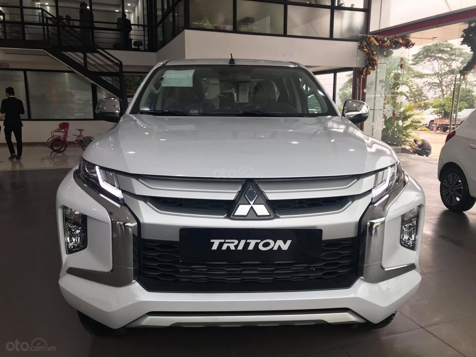Bán ô tô Mitsubishi Triton sản xuất 2019, màu xám (ghi), xe nhập-5