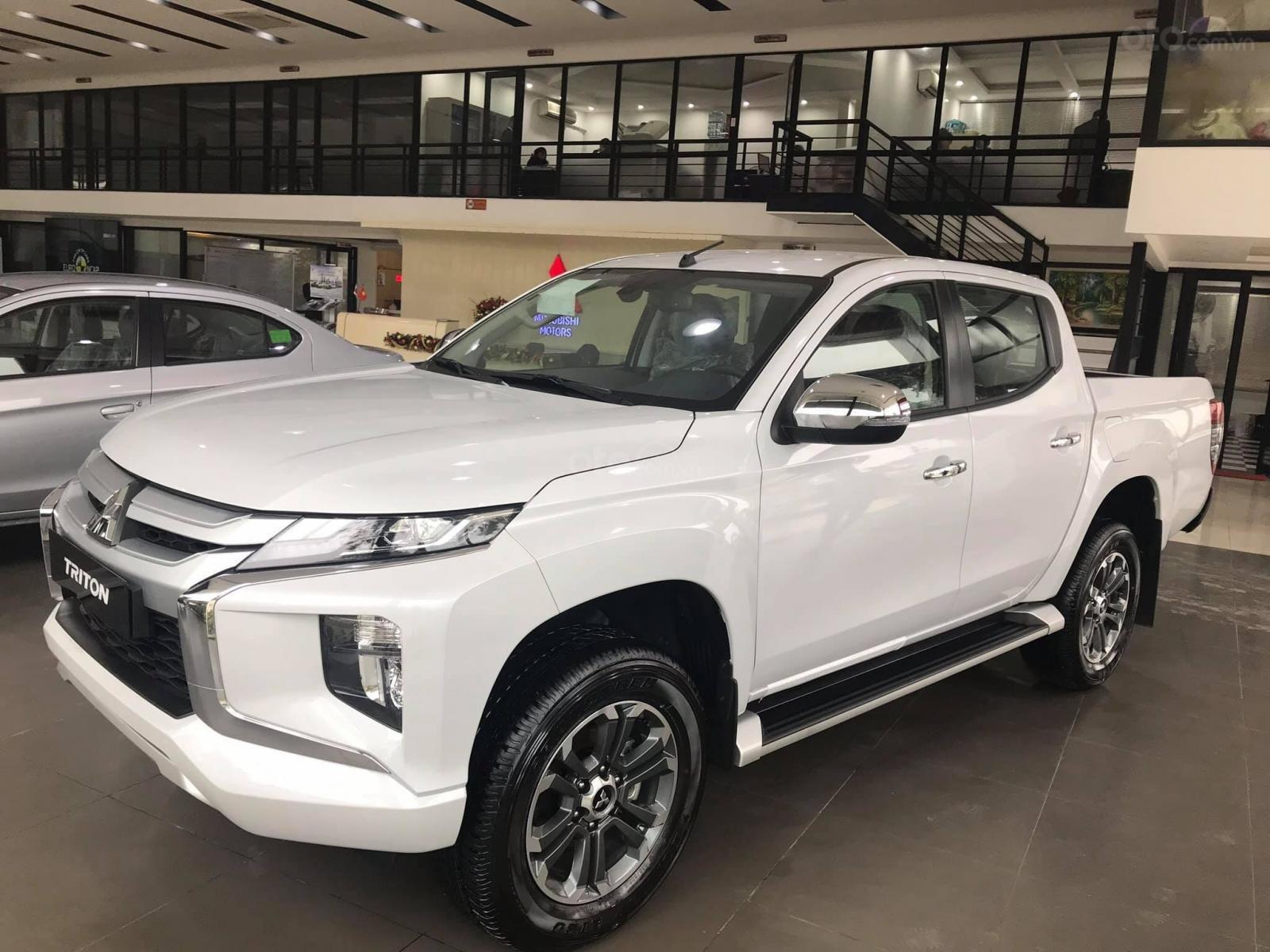 Bán ô tô Mitsubishi Triton sản xuất 2019, màu xám (ghi), xe nhập-6