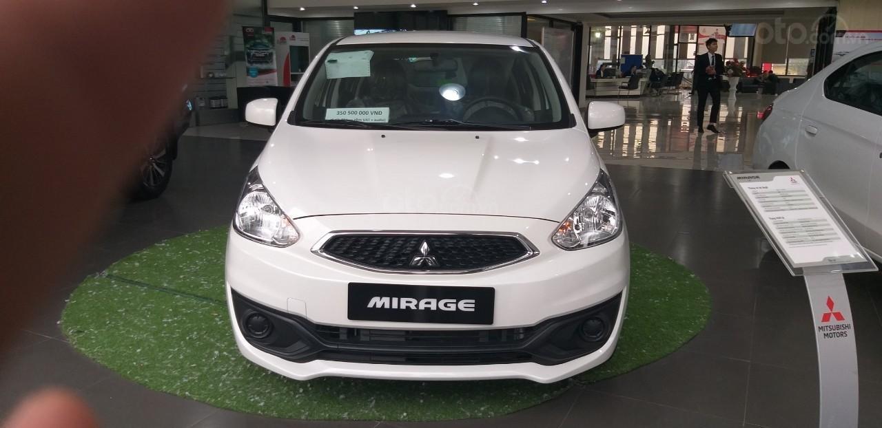 Bán xe Mitsubishi Mirage sản xuất năm 2019, màu trắng, xe nhập Thái Lan-0