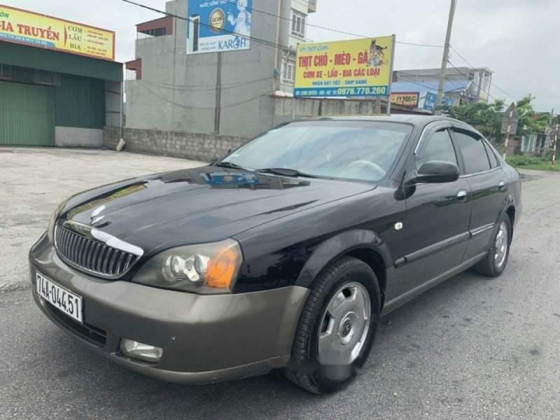 Bán xe Daewoo Magnus đời 2004, màu đen số tự động, giá chỉ 137 triệu-0