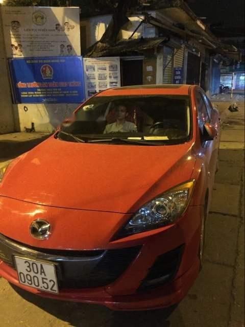 Bán Mazda 3 đời 2010, màu đỏ, nhập khẩu chính chủ, giá chỉ 430 triệu (1)
