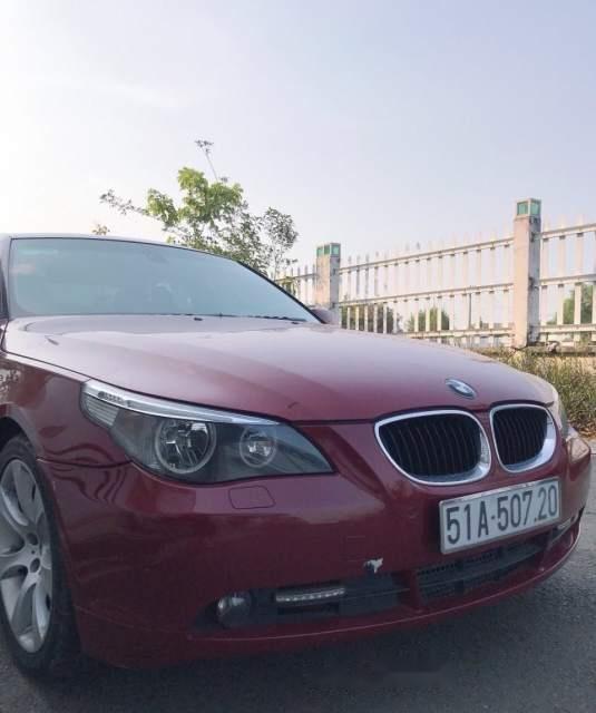Bán BMW 5 Series 530i sản xuất năm 2005, màu đỏ, giá 420tr-3