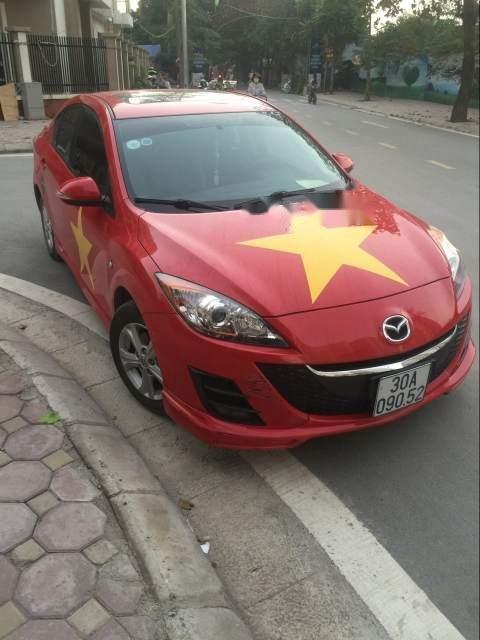 Bán Mazda 3 đời 2010, màu đỏ, nhập khẩu chính chủ, giá chỉ 430 triệu (4)
