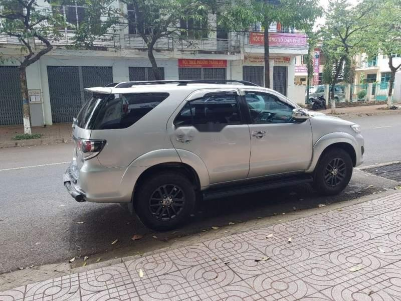 Bán Toyota Fortuner đời 2016, màu bạc, nhập khẩu-0