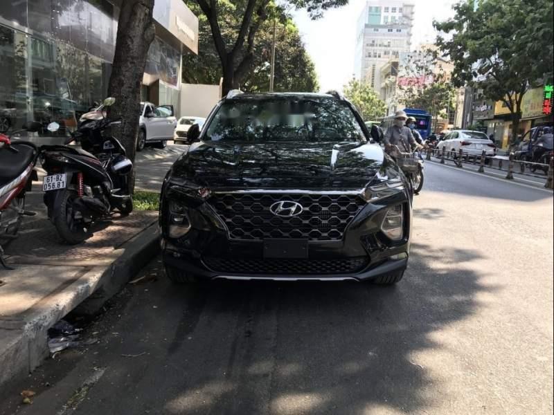 Bán Hyundai Santa Fe 2019, màu đen-3