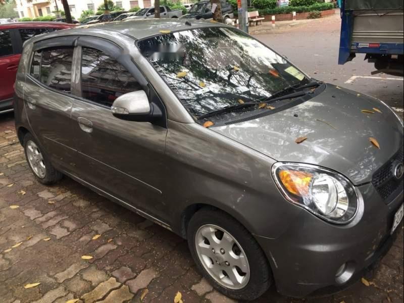 Cần bán lại xe Kia Morning 2009, màu xám, nhập khẩu nguyên chiếc chính chủ, 228 triệu-1