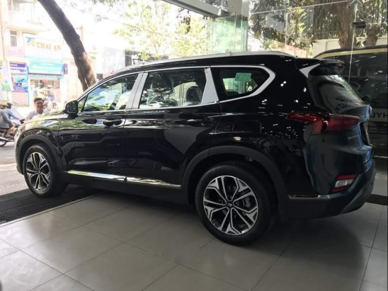 Bán Hyundai Santa Fe 2019, màu đen-4