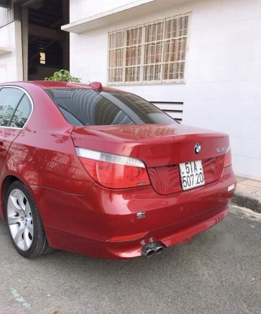 Bán BMW 5 Series 530i sản xuất năm 2005, màu đỏ, giá 420tr-2