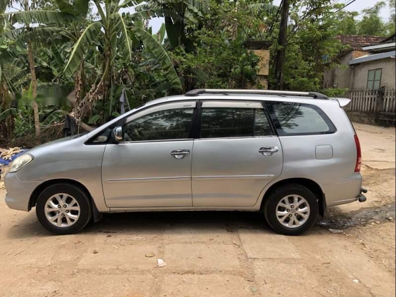 Bán xe Toyota Innova G đời 2006, màu bạc, nhập khẩu nguyên chiếc xe gia đình, giá tốt-0
