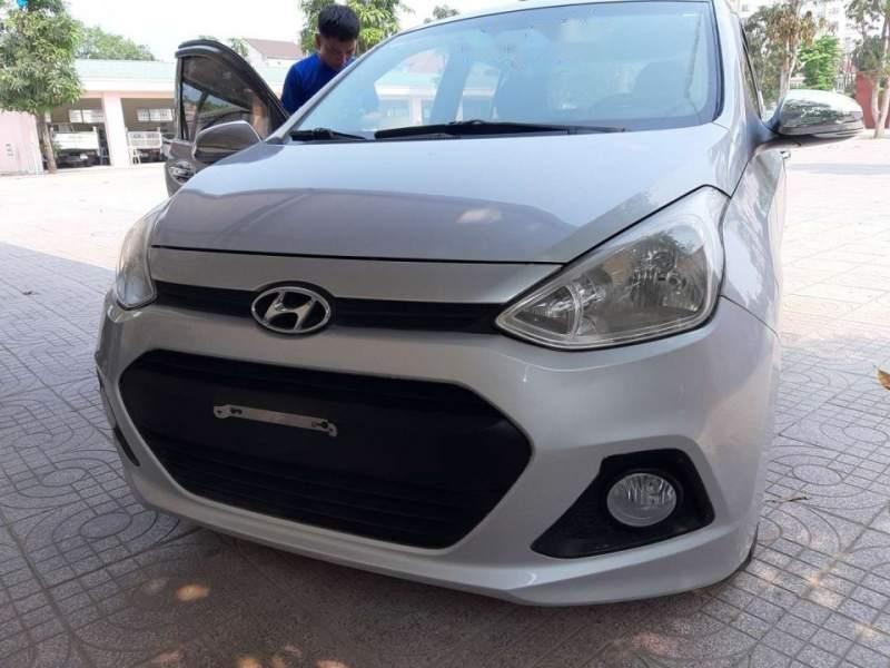 Cần bán lại xe Hyundai Grand i10 đời 2015, màu bạc, nhập khẩu nguyên chiếc như mới-1