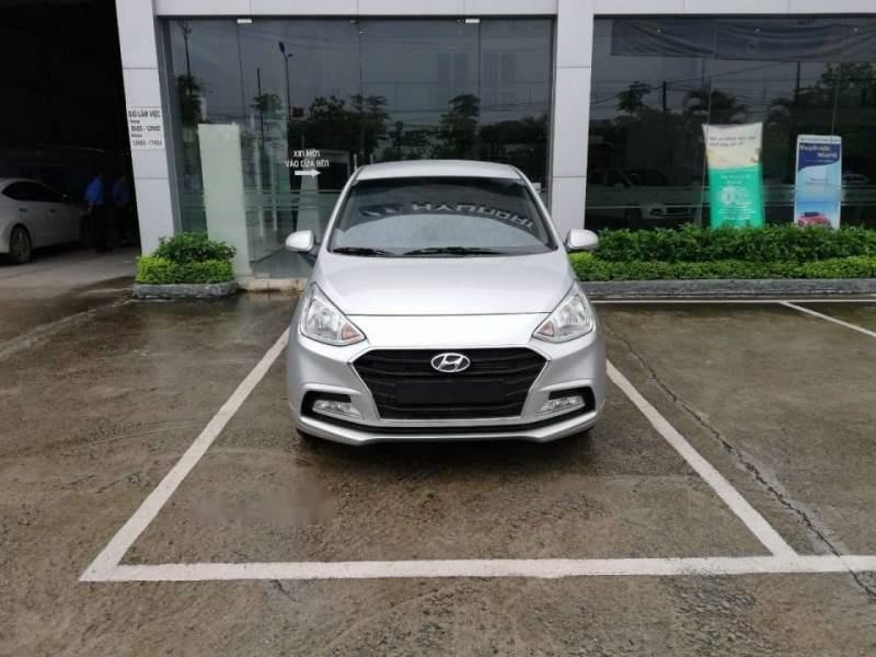 Cần bán Hyundai Grand i10 năm 2019, màu bạc, giá tốt-1