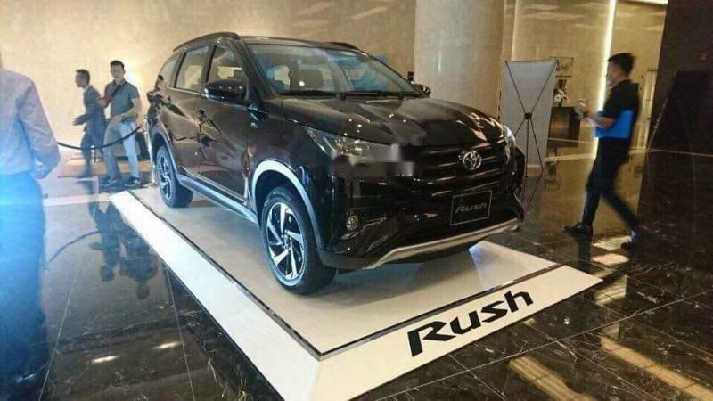 Bán ô tô Toyota Rush sản xuất 2019, màu đen, nhập khẩu-1