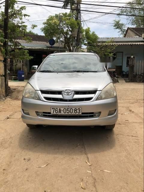 Bán xe Toyota Innova G đời 2006, màu bạc, nhập khẩu nguyên chiếc xe gia đình, giá tốt-1