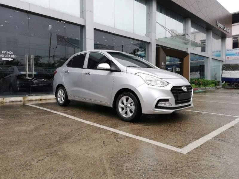 Cần bán Hyundai Grand i10 năm 2019, màu bạc, giá tốt-0