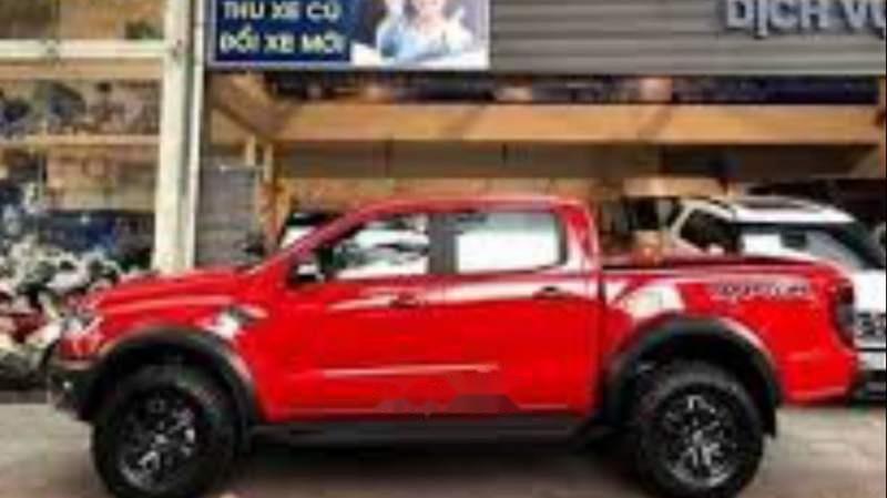 Bán xe Ford Ranger Raptor 2019, màu đỏ, nhập khẩu nguyên chiếc-1
