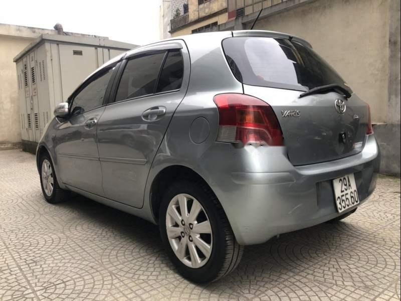 Bán xe Toyota Yaris 1.5 AT đời 2011, màu xám, nhập khẩu nguyên chiếc-1