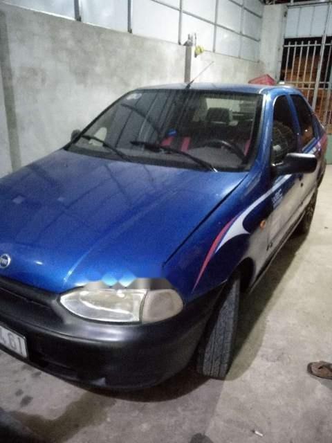 Bán ô tô Fiat Siena đời 2001, màu xanh lam, xe nhập, 70tr-2