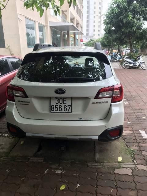 Cần bán lại xe Subaru Outback đời 2016, màu trắng, nhập khẩu nguyên chiếc chính chủ-5