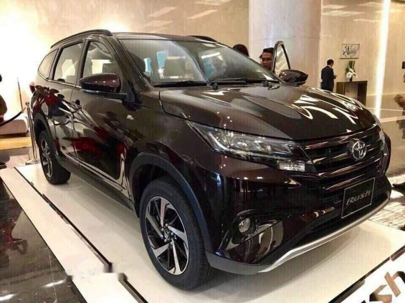 Bán ô tô Toyota Rush sản xuất 2019, màu đen, nhập khẩu-0