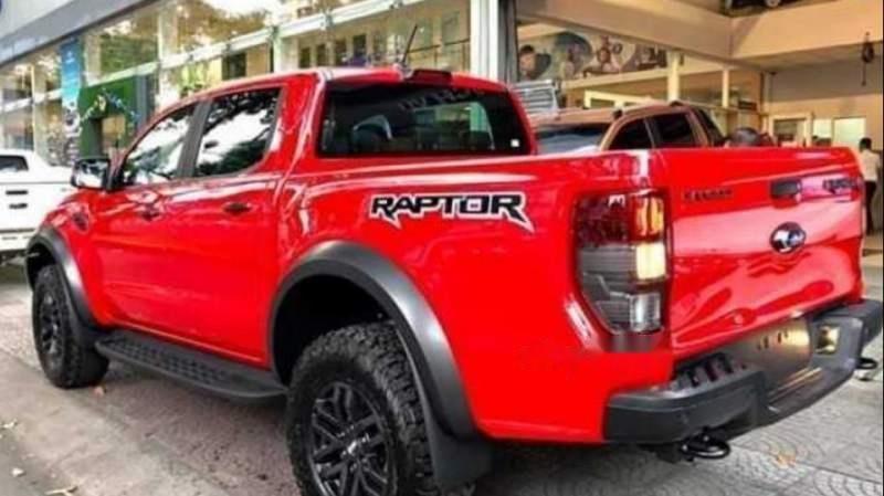 Bán xe Ford Ranger Raptor 2019, màu đỏ, nhập khẩu nguyên chiếc-0