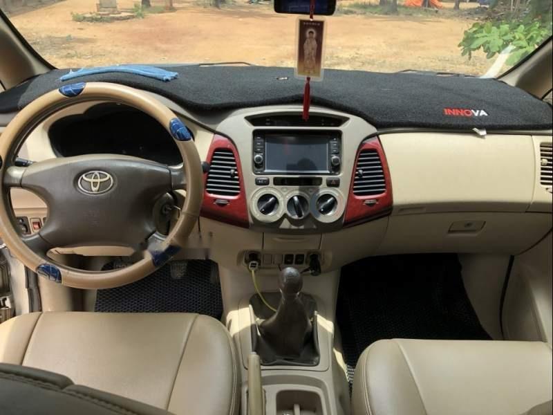 Bán xe Toyota Innova G đời 2006, màu bạc, nhập khẩu nguyên chiếc xe gia đình, giá tốt-3