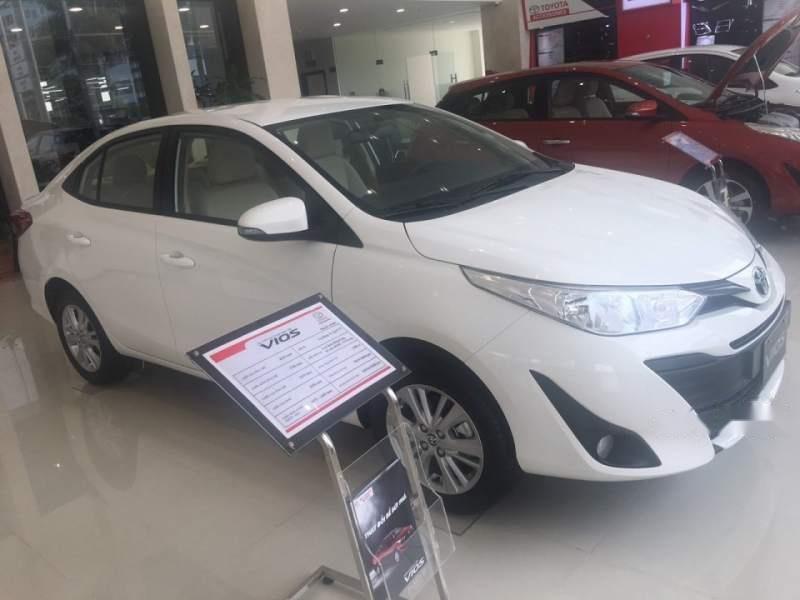 Cần bán xe Toyota Vios năm sản xuất 2019, màu trắng (3)