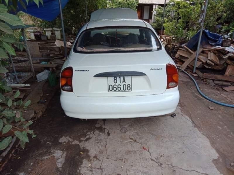 Bán ô tô Daewoo Lanos sản xuất năm 2002, màu trắng, nhập khẩu nguyên chiếc còn mới, 80tr-1