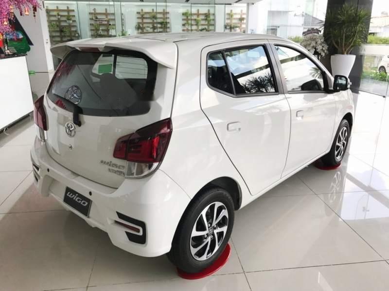 Cần bán xe Toyota Wigo năm sản xuất 2019, màu trắng, nhập khẩu nguyên chiếc, giá tốt (4)