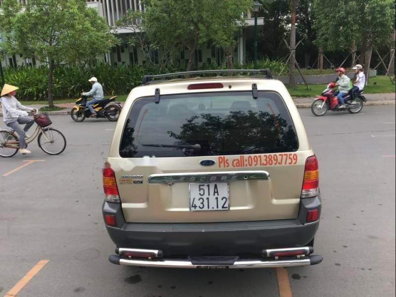 Bán Ford Escape 2004, màu vàng, số tự động -3