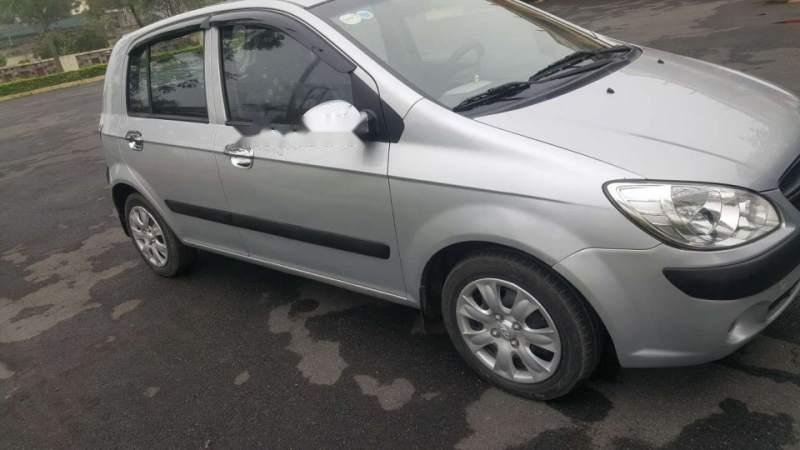 Bán Hyundai Getz đời 2009, màu bạc, nhập khẩu   -0