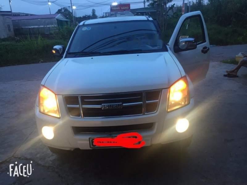 Bán xe Isuzu Dmax sản xuất 2008, màu trắng chính chủ (1)