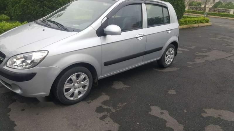 Bán Hyundai Getz đời 2009, màu bạc, nhập khẩu   -4