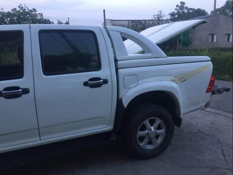 Bán xe Isuzu Dmax sản xuất 2008, màu trắng chính chủ (3)