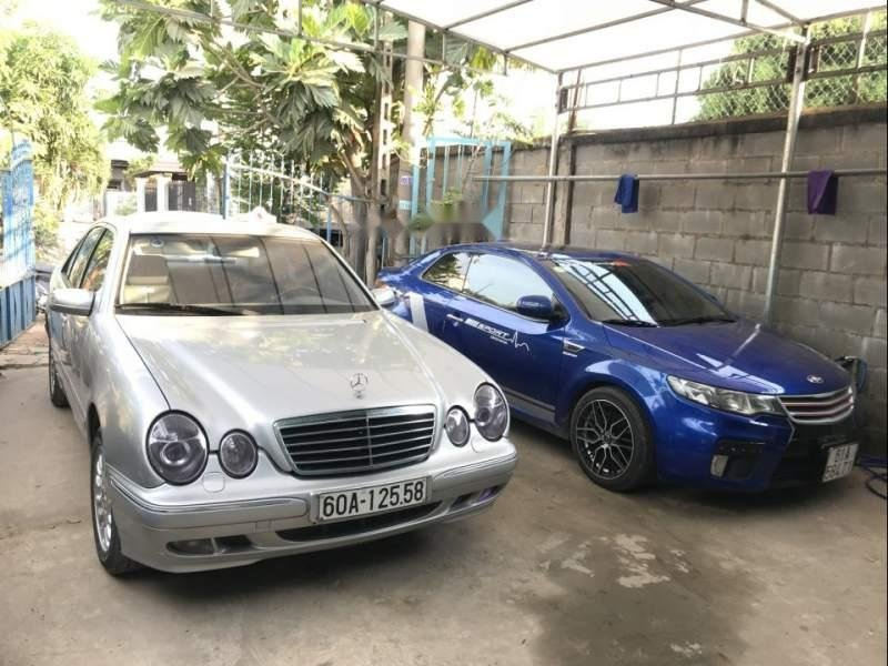 Bán Mercedes E240 2001, màu bạc, nhập khẩu  (2)