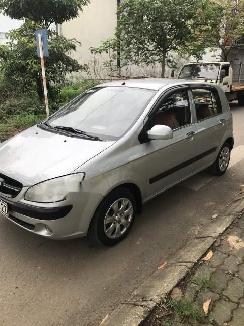 Bán lại xe Hyundai Getz 2009, màu bạc, nhập khẩu  (4)