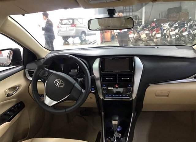 Bán xe Toyota Vios năm sản xuất 2019, màu bạc-4