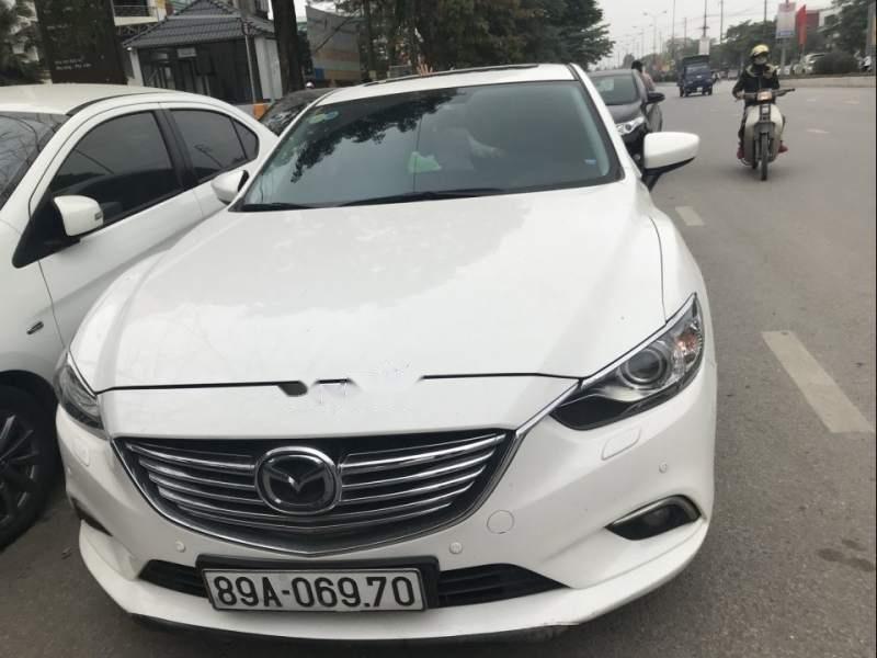 Bán xe Mazda 6 đời 2016, màu trắng, nhập khẩu   (1)
