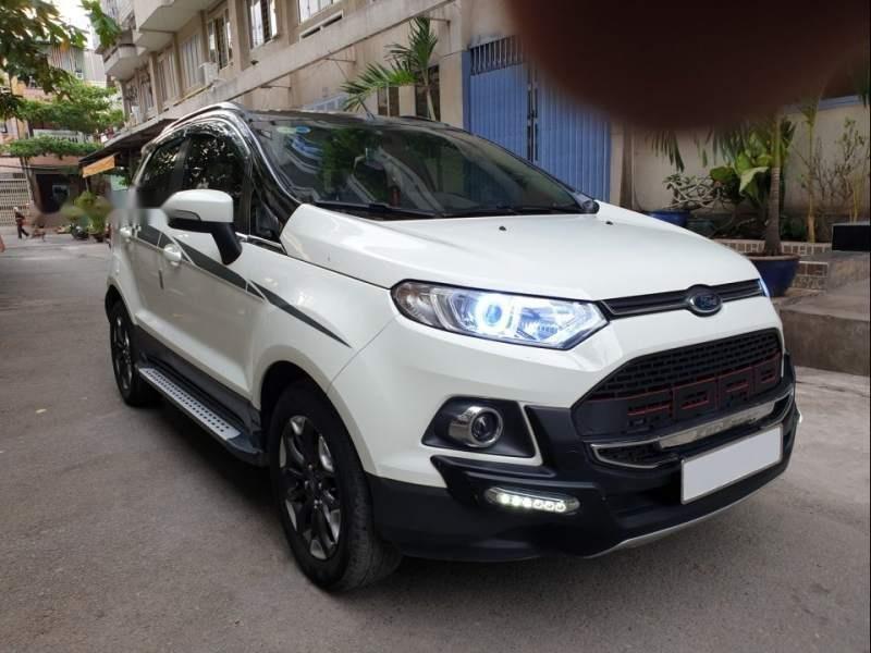 Cần bán gấp Ford EcoSport Titanium 1.5AT 2017, hai màu số tự động, giá tốt-0