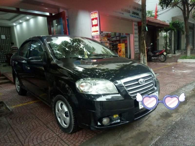 Cần bán Daewoo Gentra sản xuất 2009, màu đen, giá 161tr (1)