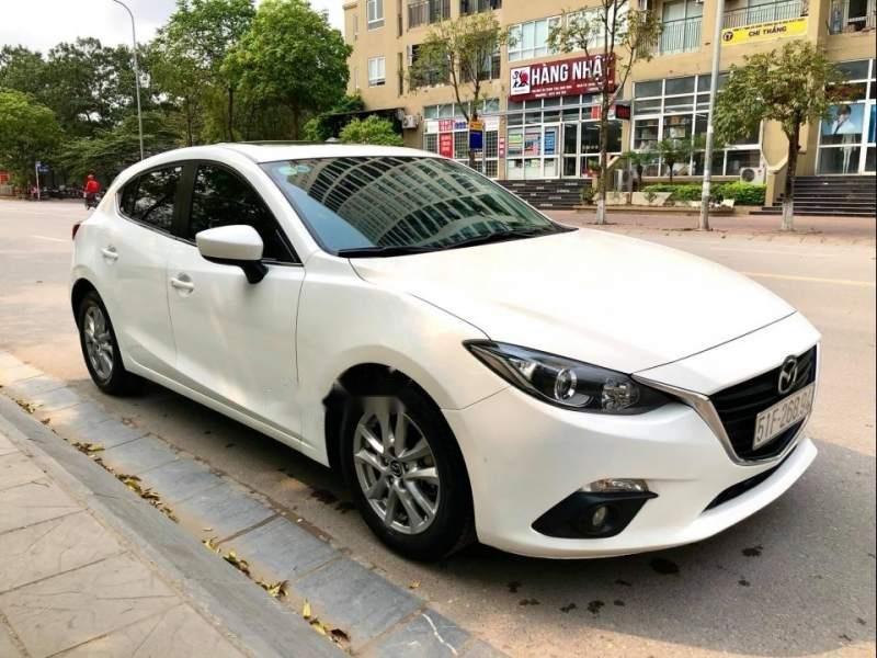 Bán xe Mazda 3 1.5AT đời 2015, màu trắng (3)