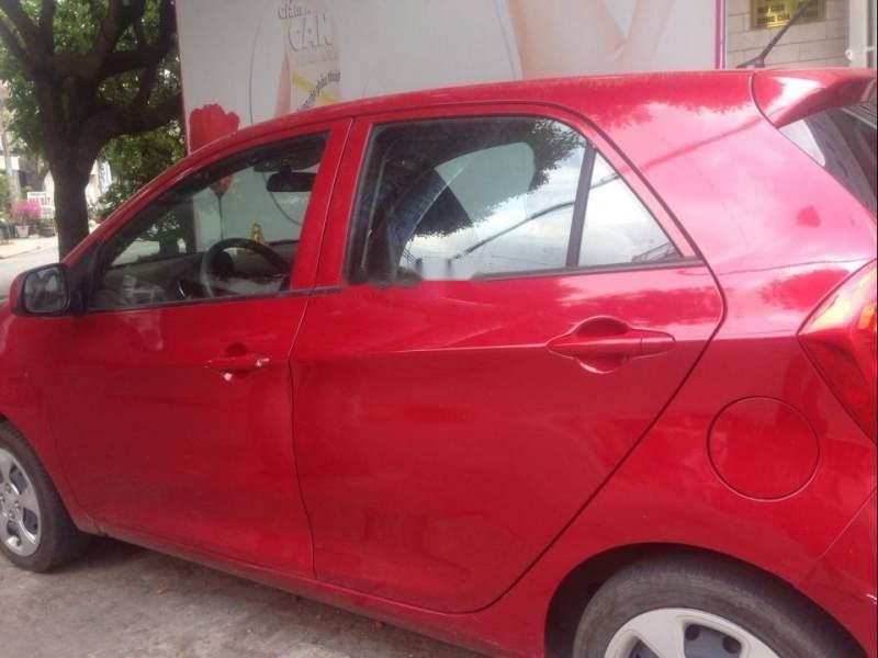 Bán xe Kia Morning năm 2017, màu đỏ (1)