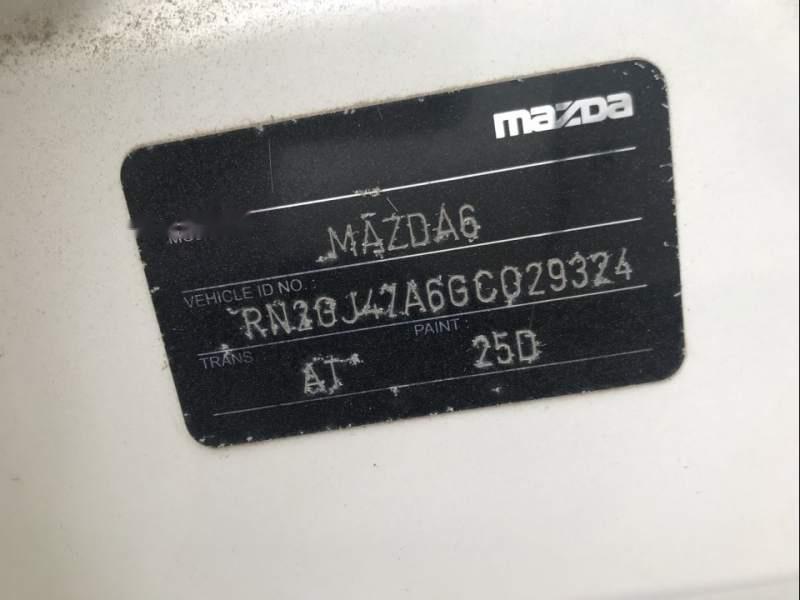 Bán xe Mazda 6 đời 2016, màu trắng, nhập khẩu   (4)